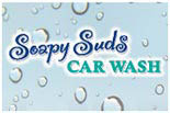 Soapy Suds Car Wash logo in Valencia, CA