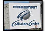 Freeman Collision center LOGO