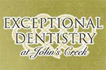 Exceptional Dentistry at John's Creek logo