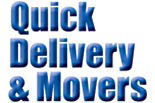 QUICK DELIVERY & MOVING logo