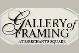 GALLERY OF FRAMING logo
