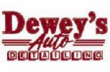 DEWEY'S AUTO DETAILING logo