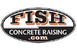 Fish Concrete Rising Logo - Dane County and Southern Wisconsin