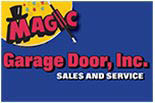 MAGIC GARAGE DOOR logo