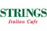 Strings Italian Cafe logo Livermore, CA