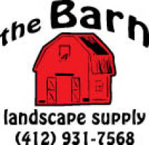 Logo for landscape supplies at The Barn Landscape Supply in Pittsburgh PA