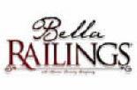 Logo for vinyl railings at Bella Railings in West Newton PA
