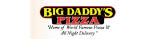 pizza coupons, pizza restaurants kearns, food coupons kearns, big daddy's pizza deals