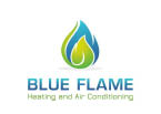 Blue Flame Heating & Air Conditioning logo in Seattle WA