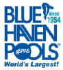 BLUE HAVEN POOLS / HOUSTON logo