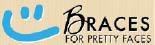 Braces for Pretty Faces logo in San Jose CA