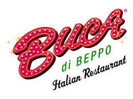 Buca Di Beppo, Italian food at great prices.