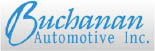 Buchanan Automotive Logo, Car Dealership Logo