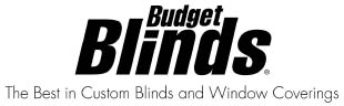 Schedule Your FREE Consultation With Budget Blinds Today!*