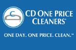 CD ONE PRICE logo