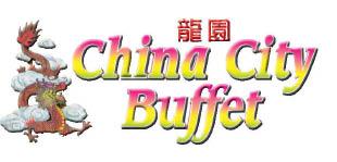 China City Buffet Logo, Chinese Buffet Logo, Asian Restaurant Logo