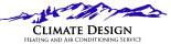 Climate Design HVAC logo in Colorado Springs