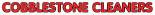 COBBLESTONE CLEANERS logo