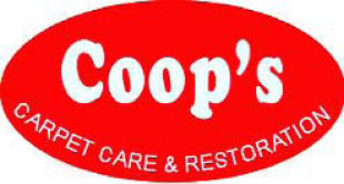 Coop's Carpet Care logo