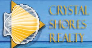 Up to $500 Rebate at Closing* from Crystal Shores Realty