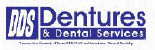 DDS DENTURE & DENTAL SERVICES  HWY 6 logo