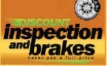 Discount Inspection & Brake in Friendswood, TX logo