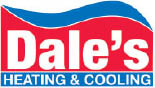 Dale's Heating and Cooling logo in Novi Michigan