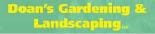 Doan's Gardening & Landscaping logo - Kirkland, WA