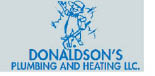 Donaldson's Plumbing and Heating in Towaco NJ logo