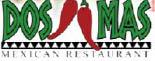 DOS  MAS MEXICAN RESTAURANT logo