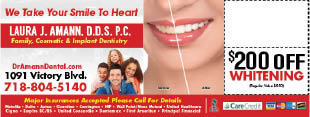 Dr. Laura J. Amann, D.D.S.P.C. coupons