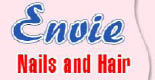 ENVIE NAILS & HAIR logo