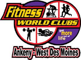 FITNESS WORLD CLUBS logo