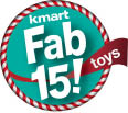 KMART Fab 15 - Top Holiday Toys in 2013 logo