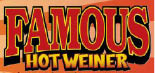 Hot Dogs, Sausages, Fries, Fresh Food, Famous Hot Weiner, Fish, Chicken, Soups, Salads, Shakes,