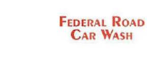 FEDERAL ROAD CAR WASH logo