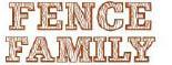 THE FENCE FAMILY logo