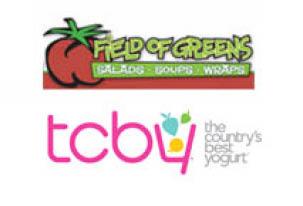 Field Of Greens & TCBY logo