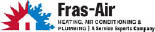 FRAS-AIR HEATING, AIR CONDITIONING & PLUMBING logo