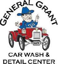GENERAL GRANT CAR WASH logo