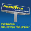 Goodyear Auto Service Center logo in Frisco, TX tire specials discount tires brake repair