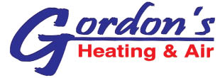 GORDON'S HEATING & AIR logo