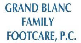 Grand Blanc Family Footcare logo