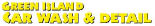 Green Island Car Wash & Detail in Austin, TX logo