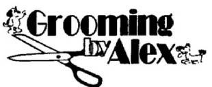 GROOMING BY ALEX logo