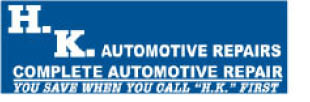 H. K. AUTOMOTIVE REPAIR logo