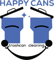 $20 For 2 Trash Cans Cleaned by Happy Cans