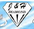 J & H DIAMOND JEWELERS logo