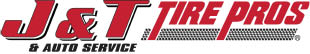 Logo for J & T Tire Pros and Auto services in Allison Park PA