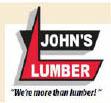 John's Lumber logo in Clinton & Shelby Townships MI